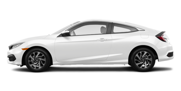 2016 Honda Civic Coupe LX-SENSING | Photo 4 | Taffeta White