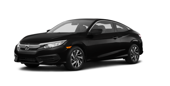 2016 Honda Civic Coupe LX-SENSING | Photo 6 | Crystal Black Pearl
