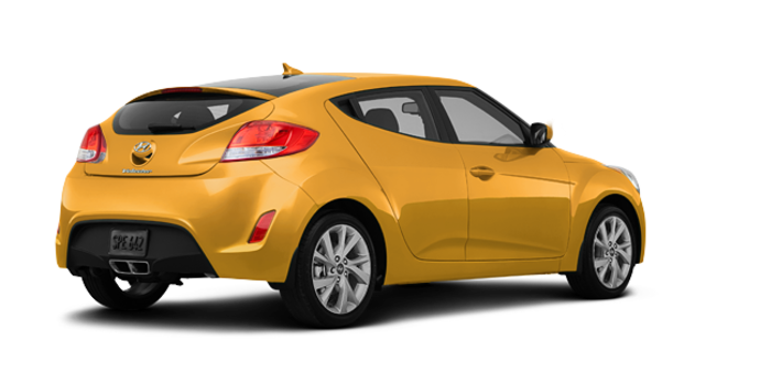 2016 Hyundai Veloster BASE | Photo 5 | Sunflower Yellow