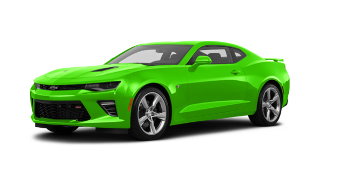 2017 Chevrolet Camaro coupe 1SS | Photo 6 | Krypton Green