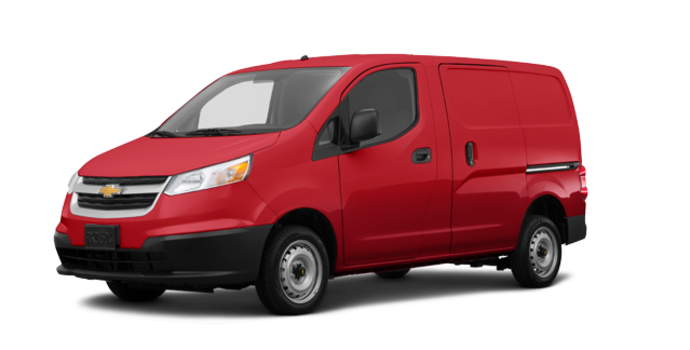 2017 Chevrolet City Express 1LS | Photo 6 | Furnace Red