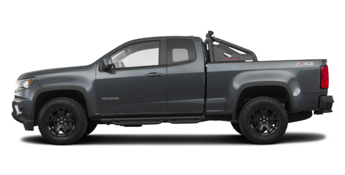 2017 Chevrolet Colorado Z71 | Photo 4 | Cyber Grey Metallic