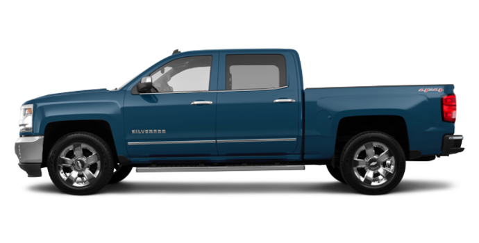 2017 Chevrolet Silverado 1500 LTZ | Photo 4 | Deep Ocean Blue Metallic