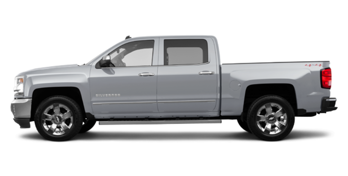 2017 Chevrolet Silverado 1500 LTZ | Photo 4 | Silver Ice Metallic