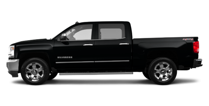 2017 Chevrolet Silverado 1500 LTZ | Photo 4 | Black