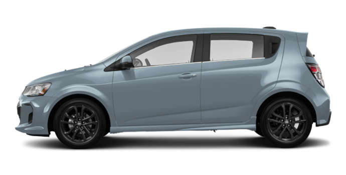 2017 Chevrolet Sonic Hatchback PREMIER | Photo 4 | Arctic Blue Metallic