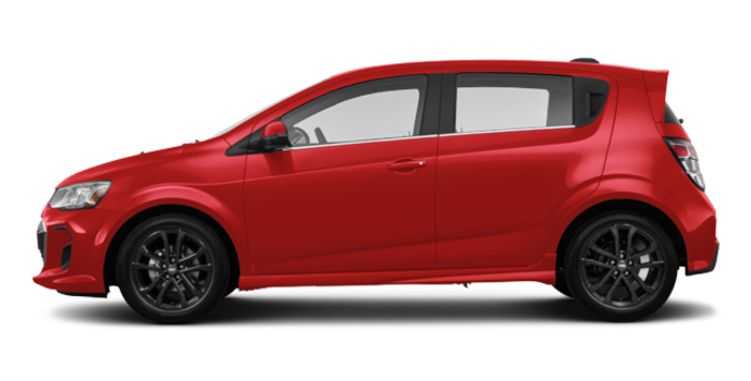 2017 Chevrolet Sonic Hatchback PREMIER | Photo 4 | Cajun Red