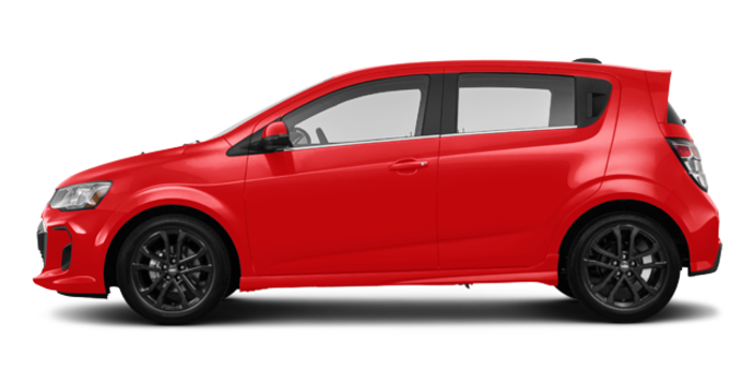 2017 Chevrolet Sonic Hatchback PREMIER | Photo 4 | Red Hot