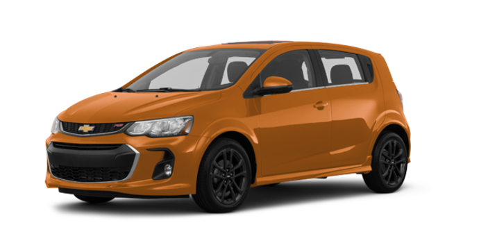 2017 Chevrolet Sonic Hatchback PREMIER | Photo 6 | Orange Burst Metallic