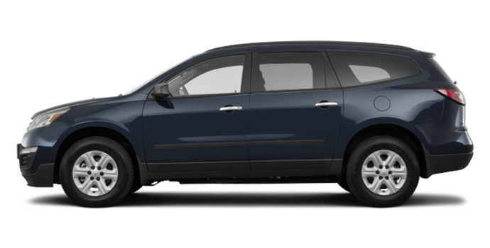 2017 Chevrolet Traverse LS | Photo 4 | Bllue Velvet Metallic