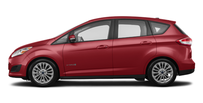 2017 Ford C-MAX HYBRID SE | Photo 4 | Ruby Red