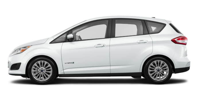 2017 Ford C-MAX HYBRID SE | Photo 4 | Oxford White