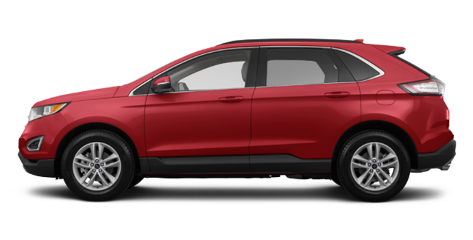 2017 Ford Edge SEL | Photo 4 | Ruby Red Metallic