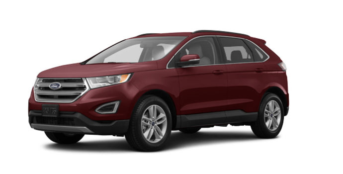 2017 Ford Edge SEL | Photo 6 | Burgundy Velvet Metallic