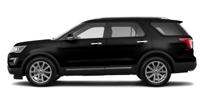2017 Ford Explorer LIMITED | Photo 4 | Shadow Black
