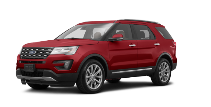 2017 Ford Explorer LIMITED | Photo 6 | Ruby Red