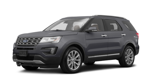 2017 Ford Explorer LIMITED | Photo 6 | Magnetic Grey