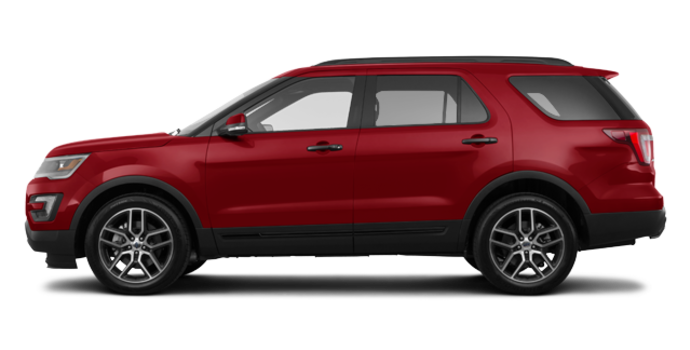 2017 Ford Explorer SPORT | Photo 4 | Ruby Red