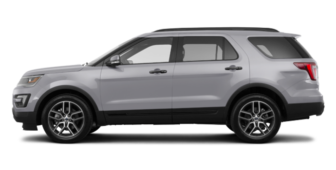 2017 Ford Explorer SPORT | Photo 4 | Ingot Silver
