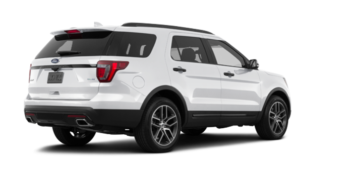 2017 Ford Explorer SPORT | Photo 5 | White Platinum