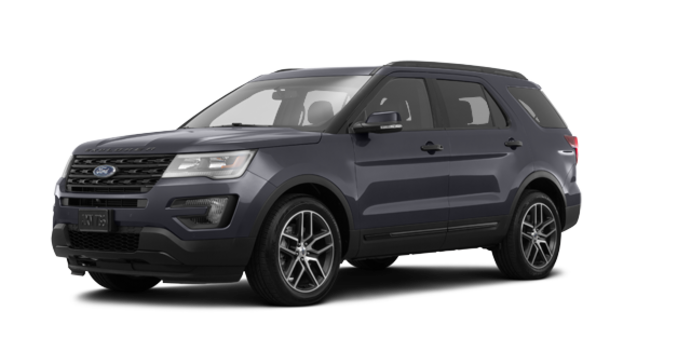 2017 Ford Explorer SPORT | Photo 6 | Smoked Quartz