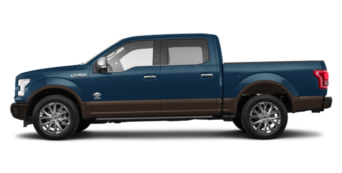 2017 Ford F-150 KING RANCH | Photo 4 | Blue Jeans Metallic/Caribou