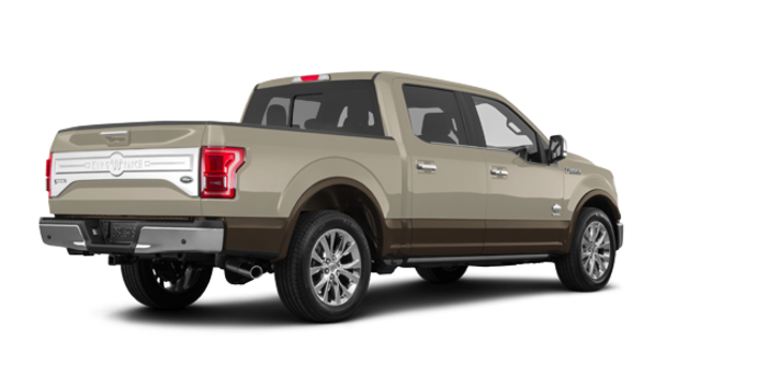 2017 Ford F-150 KING RANCH | Photo 5 | White Gold/Caribou