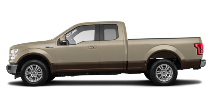 2017 Ford F-150 LARIAT | Photo 4 | White Gold/Caribou