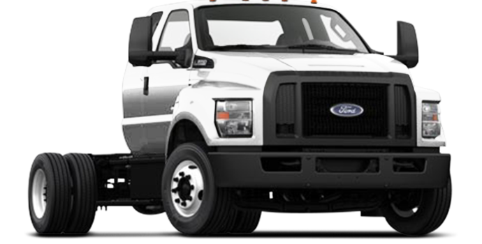 2017 Ford F-650 SD Diesel Pro Loader | Photo 4 | Oxford White