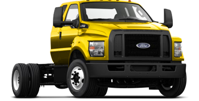 2017 Ford F-650 SD Diesel Pro Loader | Photo 4 | Bold Yellow
