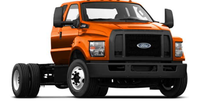 2017 Ford F-650 SD Diesel Pro Loader | Photo 4 | Tangier Orange