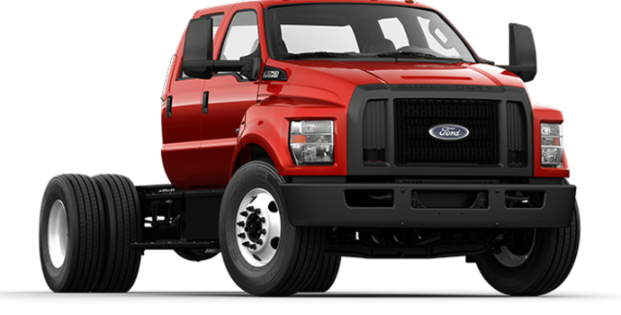 2017 Ford F-750 SD GAS | Photo 4 | Race Red