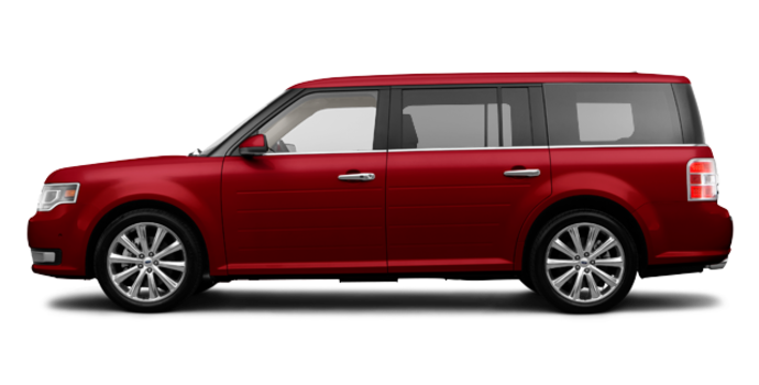 2017 Ford Flex LIMITED | Photo 4 | Ruby Red