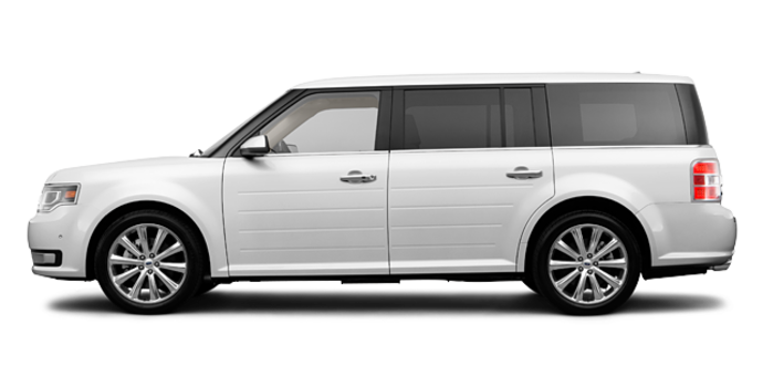 2017 Ford Flex LIMITED | Photo 4 | Oxford White