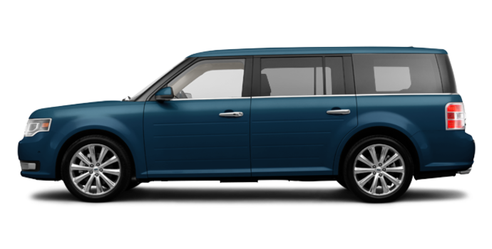 2017 Ford Flex LIMITED | Photo 4 | Blue Jeans