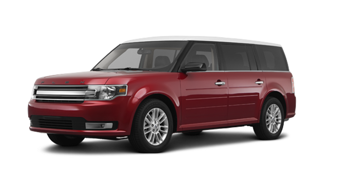 2017 Ford Flex SEL | Photo 6 | Ruby Red