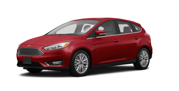 2017 Ford Focus Hatchback TITANIUM | Photo 6 | Ruby Red