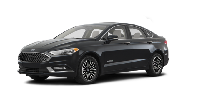 2017 Ford Fusion Hybrid PLATINUM | Photo 6 | Shadow Blakc