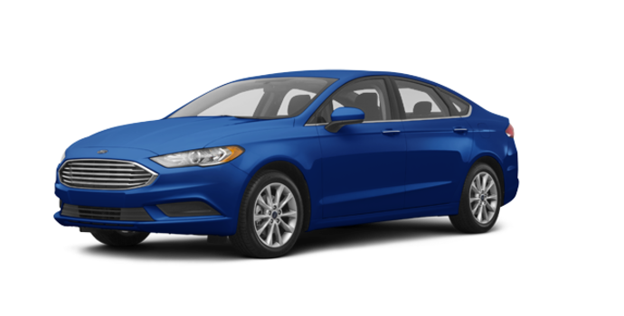2017 Ford Fusion S | Photo 6 | Lightning Blue