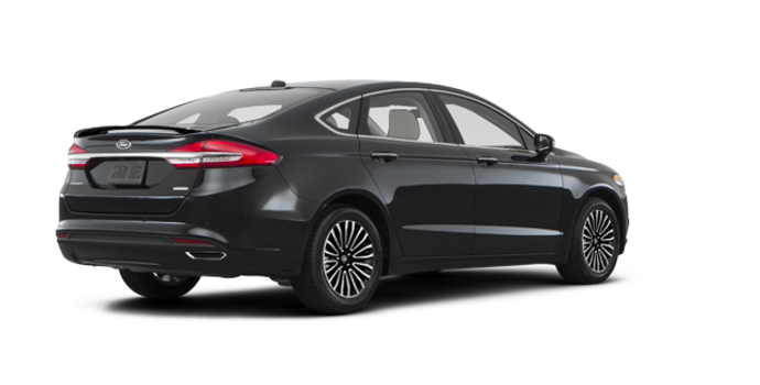 2017 Ford Fusion TITANIUM | Photo 5 | Shadow Blakc