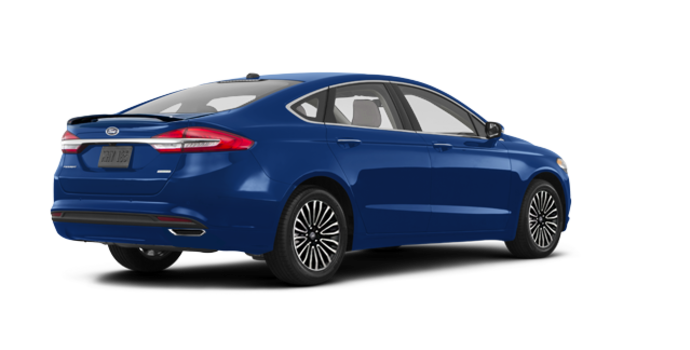 2017 Ford Fusion TITANIUM | Photo 5 | Lightning Blue