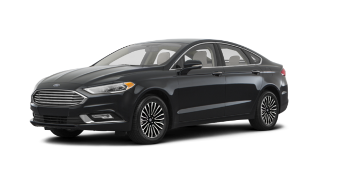 2017 Ford Fusion TITANIUM | Photo 6 | Shadow Blakc