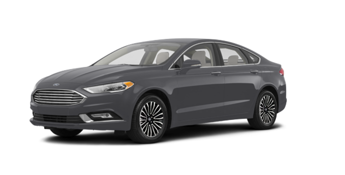2017 Ford Fusion TITANIUM | Photo 6 | Magnetic