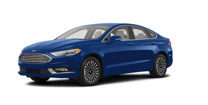 2017 Ford Fusion TITANIUM | Photo 6 | Lightning Blue