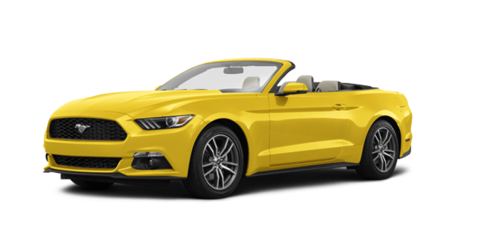 2017 Ford Mustang Convertible EcoBoost Premium | Photo 6 | Triple Yellow