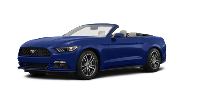 2017 Ford Mustang Convertible EcoBoost Premium | Photo 6 | Lightning Blue