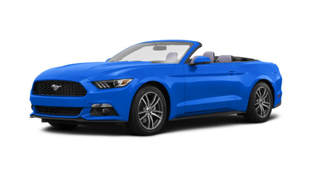 2017 Ford Mustang Convertible EcoBoost Premium | Photo 6 | Grabber Blue