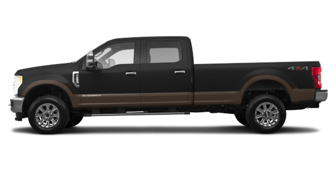 2017 Ford Super Duty F-250 KING RANCH | Photo 4 | Shadow Black/Caribou
