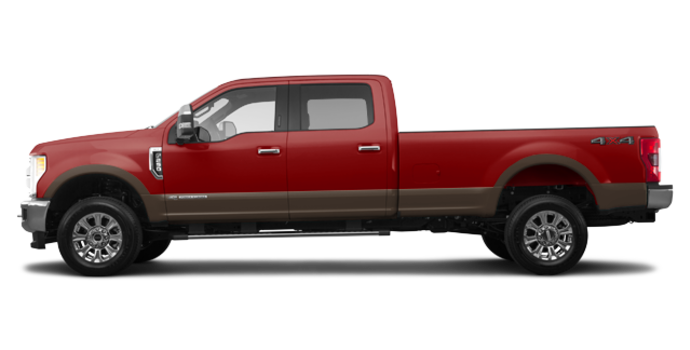 2017 Ford Super Duty F-250 KING RANCH | Photo 4 | Ruby Red/Caribou
