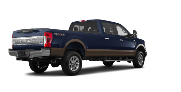 2017 Ford Super Duty F-250 KING RANCH | Photo 5 | Blue Jeans Metallic/Caribou